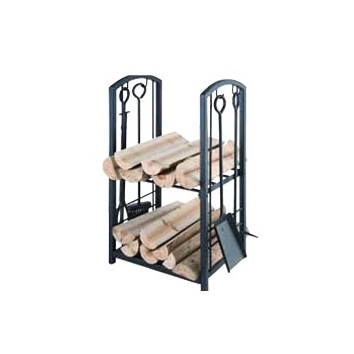 2 Tier Wood Rack
